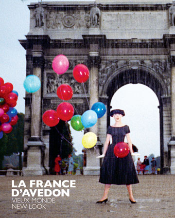 Cover of LA FRANCE D'AVEDON exhibit book.