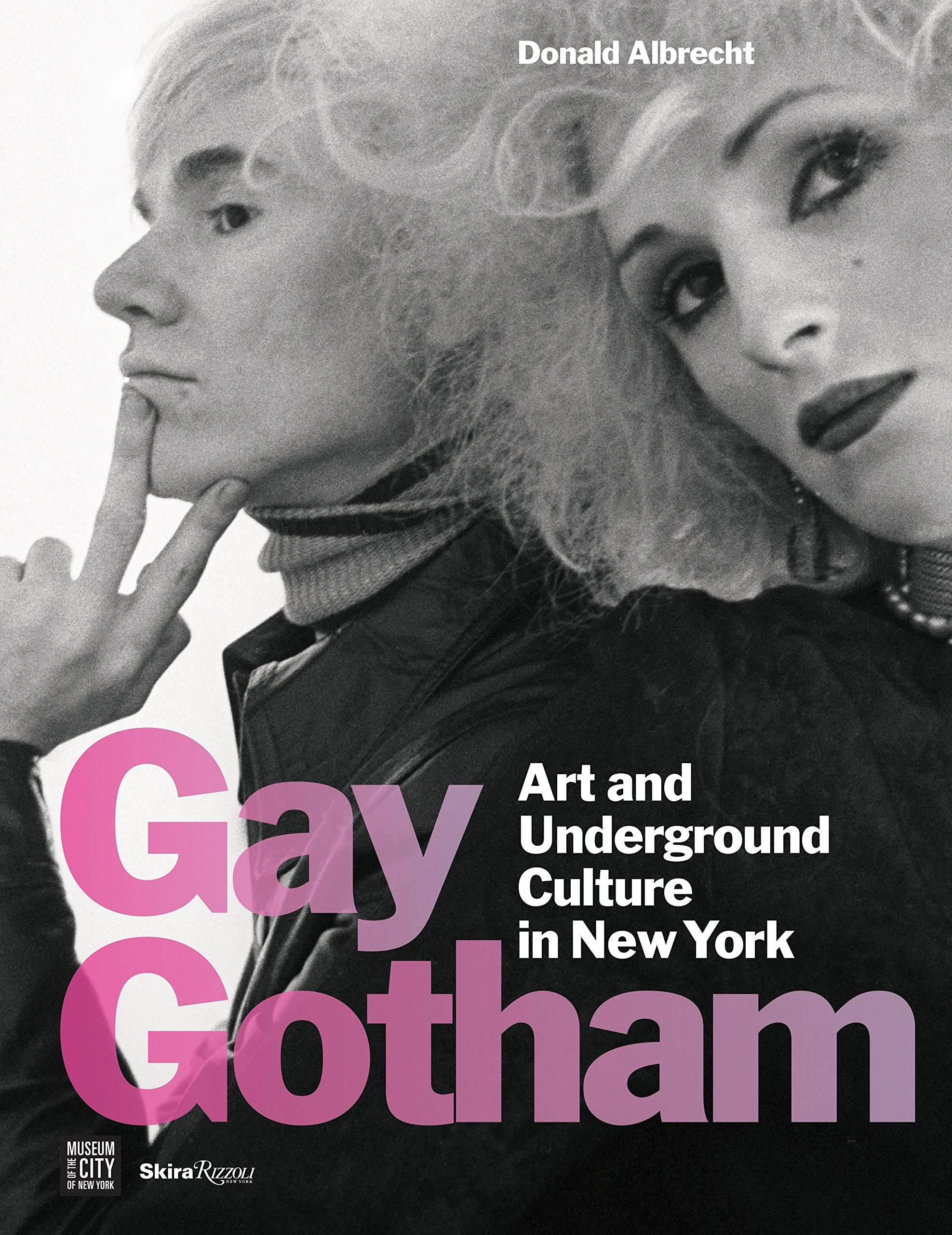 Cover of Gay Gotham: Art and Underground Culture in New York catalog.