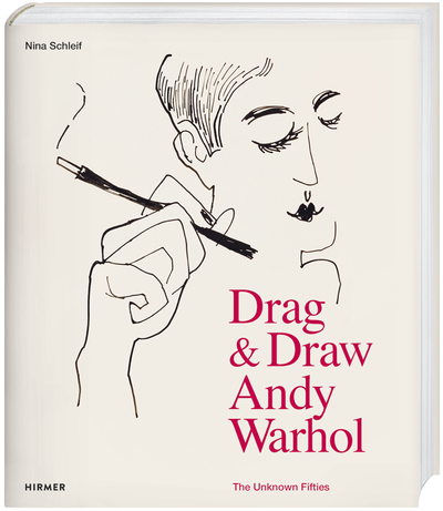 Drag & Draw Andy Warhol book cover.