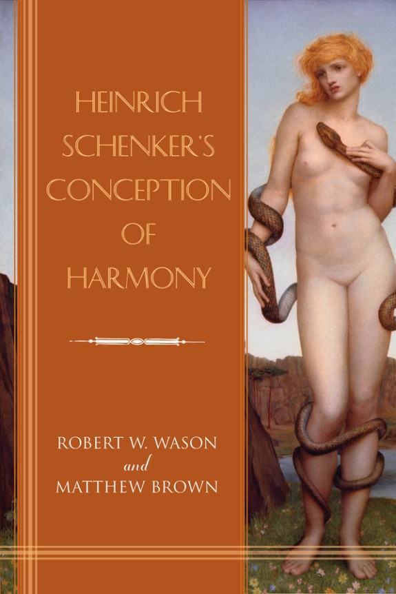 Book cover of Heinrich Schenker's Conception of Harmony