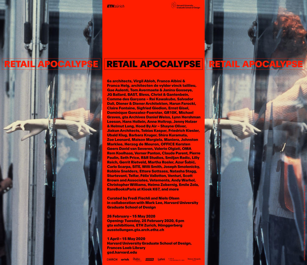 "Photo from exhibition, ""Retail Apocalypse."""